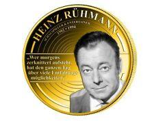 Heinz Rühmann * Film - Schauspieler * Medaille - vergoldet * NEU *