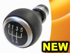 GEAR STICK SHIFT KNOB VW PASSAT B6 B7 CC 5 SPEED LEATHER - NEW