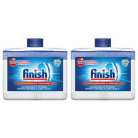 Finish Dual Action Dishwasher Cleaner: Fight Grease,Limescale,Fresh 8.45 oz. 2pk