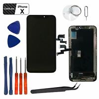 iPhone X Black 5.8'' LCD Touch Screen Digitizer Display Replacement Assembly Kit
