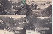 Lot 4 cartes postales anciennes GAVARNIE le cirque 4