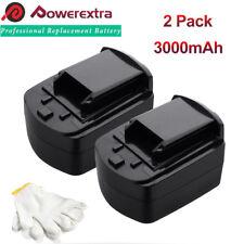 2 Pcs 18V 3000mah For SKIL SB18C Ni-Mh Battery Pack For Skill 2895,4750,5995