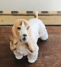Vintage Cocker Spaniel Ardalt Lenwile China - Verithin Porcelain Figurine #A4