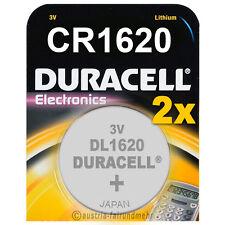 2x CR1620 DURACELL Electronics Lithium Knopfzelle DL1620 3Volt