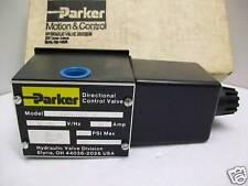 *NEW IN BOX*  PARKER D3W4HVDC-14 ST-166 SOLENOID VALVE 120-VDC