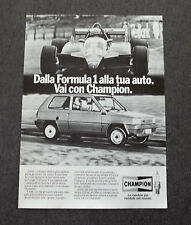 G229-Advertising Pubblicità - 1982 - CHAMPION CANDELE
