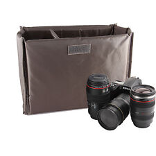 Folding Partition Padded Insert Camera Case For Canon EOS 60D 60Da 7D 6D