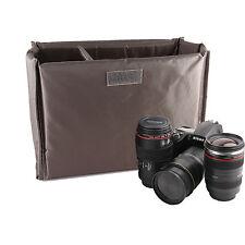 Db25 Plegable partición Acolchado bolsas de cámara SLR DSLR Tlr insertar caso de la protección