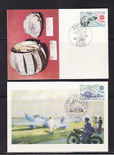 carte  1er jour  paire Europa    Strasbourg  et   Paris       1979