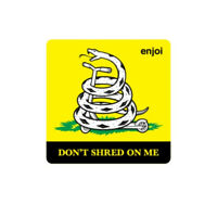 "Enjoi Skateboards Don't Shred On Me Logo Sticker Decal 3.5"" New Free Shipping"