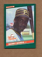 1986 Donruss Rookies #11 Barry Bonds XRC RC
