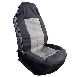 Canvas Seat Covers Prado Waterproof 600 Denier Pocket Carseat Protectors Single