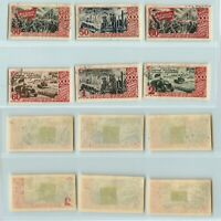 Russia USSR 1947 SC 1183a-1188a used . g315