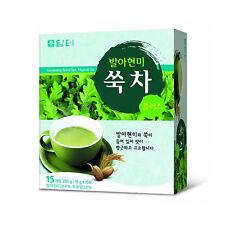Damtuh Brown Rice Mugwort Tea (15 pcs), Ssuk Cha, Korean Herb Tea, Healthy Drink
