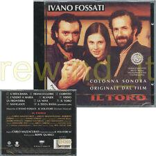 """IVANO FOSSATI """"IL TORO"""" RARO CD OST 1994 - SIGILLATO"""