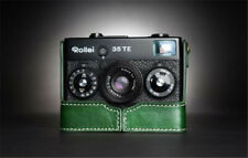 For Rollei Camera Protective Cover Cowhide Base 35S 35TE 35SE Genuine Leather