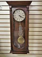 New Howard Miller Helmsley Dual Chime Wall Clock
