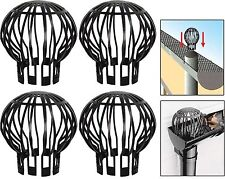 4 DOWN PIPE FILTER GUARD GUTTER DOWNPIPE BALLOON COVER LEAF DEBRIS BLOCK CLOGGS