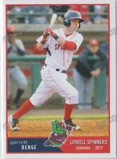 2017 Lowell Spinners Garrett Benge RC Rookie Boston Red Sox