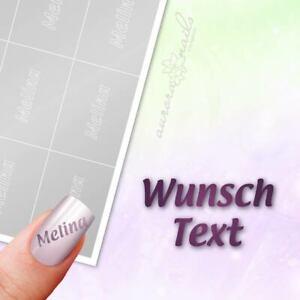 Schablonen für Airbrush und Nailart - Buchstaben Wunschtext Name - 40 Schablonen