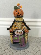 "BLUE SKY CLAYWORKS ""I Scream Parlour"" Halloween Tealight Votive"