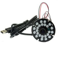 ELP Night Vision USB Camera Module With 24pcs IR Leds 1080P Mini CCTV Camera HD