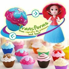 Lot of 12 Complete set Transform Cupcake Surprise Scented Mini Dolls