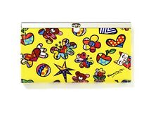 Romero Britto  Snap-Close Wallet - Mini Icons - NEW with tag