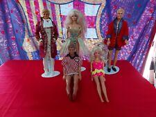 Lotto Barbie Doll Ken Poupées Vintage  Jewelry