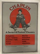 Original Vintage Poster Chaplin A Series of Feature Classics; USA ca.1973