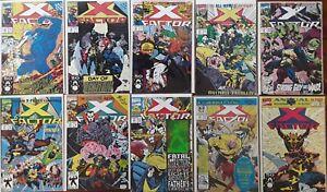 X-Factor X-Men Lot #1 Wolverine Mr Sinister Beast