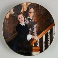 Gone With The Wind - MGM 50th Anniversary Collector Plate-Melanie & Ashley