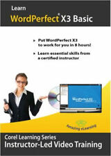 Learn WordPerfect X3 in a few hours - Guaranteed