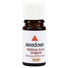 Organic Melissa True Essential Oil (Meadows Aroma) 5ml