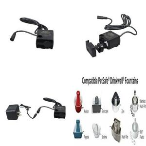 Water Fountain Replacement Pumps Submersible for Petsafe Fountains See Below