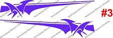 1mt BOAT GRAPHICS #3 Custom Sticker kit JetSki Fishing Ally Craft Haines Sea-ray