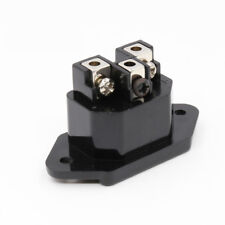 High Quality One Copper Rhodium Plated AC IEC Inlet Socket