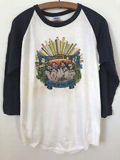 """Vtg 1982 Music Festival Ringer T-shirt """"Alabama"""" Redgate. The Knits 50/50 XL"""