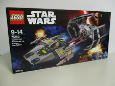 LEGO STAR WARS 75150 VADER'S TIE ADVANCED VS A WING STARFIGHTER  nuovo 4 minifig