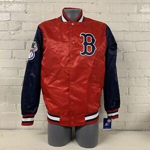 Boston Red Sox Lightweight Starter Satin Jacket MLB Baseball NWT New Mens Medium