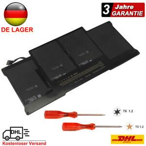 """Akku Batterie Für MacBook Air 13"""" A1369 2011 A1466 2012 2013-2015 A1405 A1496 DE"""