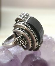 * JINN RING * Goddess HECATE WITCHCRAFT PAGAN wicca conjured US 4.5 pinky ring