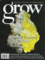 Grow     Harvest & processing  Issue 5  2020 Hemp & Cannabis Magazine