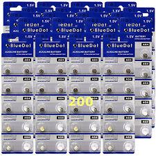 Us Seller ~ 200 Ag4 Sr626 377A Sr626Sw Lr626 Alkaline battery Retail Pack FreeSh