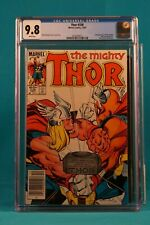 MARVEL COMICS CGC 9.8 THE MIGHTY THOR #338 WHITE PAGES 12/83 - VINTAGE