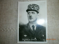 carte postale: GENERAL DE GAULLE