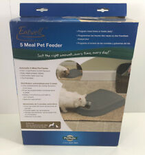 PetSafe Eatwell 5 Meal Timed Automatic Pet Feeder  NIB