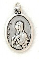 ST MONICA Catholic Saint Medal charm patron abuse victims housewives mothers