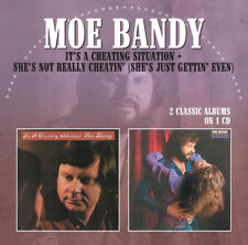 Moe Bandy : It's a Cheating Situation/She's Not Really Cheatin' CD (2013)