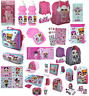 LOL SURPRISE BACK TO SCHOOL STATIONARY LUNCH BAGS BACK PACKS PINK DOLLS GIFTS